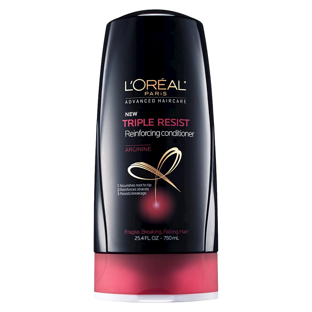 L'Oreal Paris Advanced Haircare Triple Resist Reinforcing Conditioner - 25.4oz