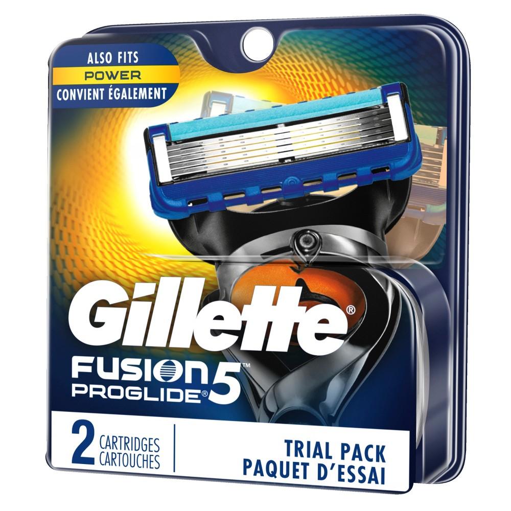 Gillette Fusion ProGlide Manual Men's Razor Blade Refills...