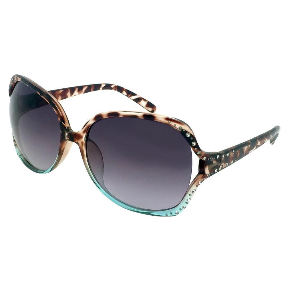 Womens Pavilion Sunglasses - Tortoise/Blue, Tort/Blue