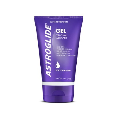 Astroglide Gel Personal Lube and Moisturizer - 4-oz