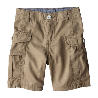 Genuine Kids from OshKosh™ Infant Toddler Boys' Cargo Shorts - Outback Brown 24 M