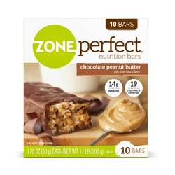 Zoneperfect® Chocolate Peanut Butter Nutrition Bars - 10ct