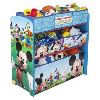 Delta Children Multi-Bin Toy Organizer - Mickey Mouse
