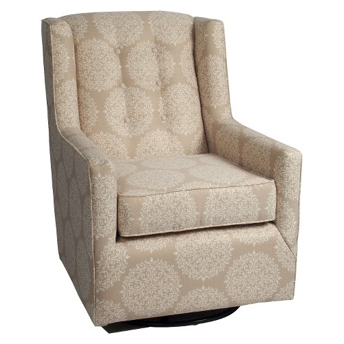 Little Castle Charleston Swivel Glider - Elle Pearl