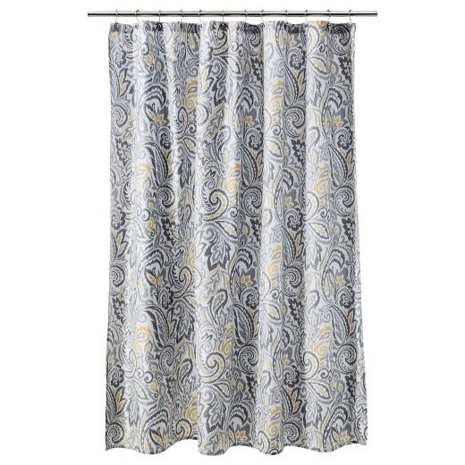 Paisley Shower Curtain White