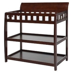 Delta Children Bentley Changing Table - Black Cherry Espresso