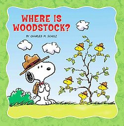 Where Is Woodstock? (Library) (Charles M. Schulz)