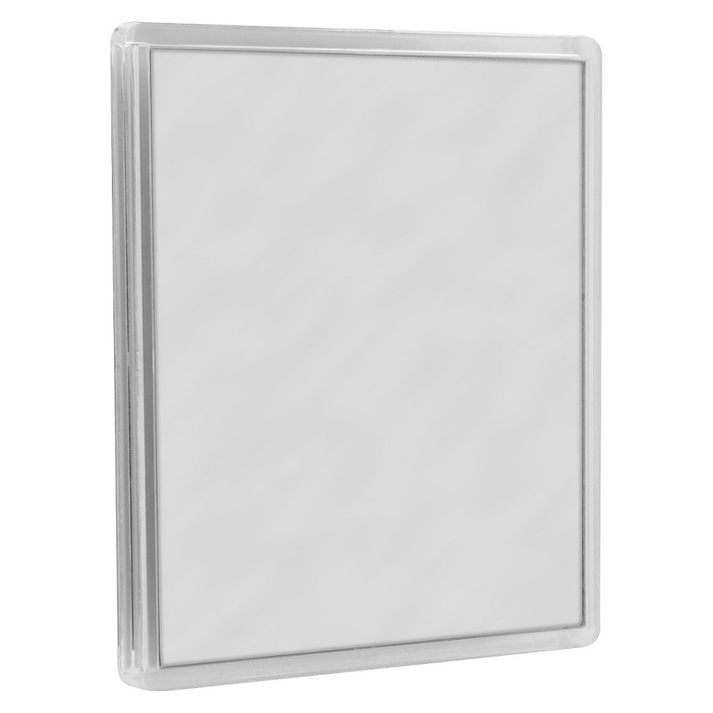 Zadro Fogless Suction Cup Mirror, Clear