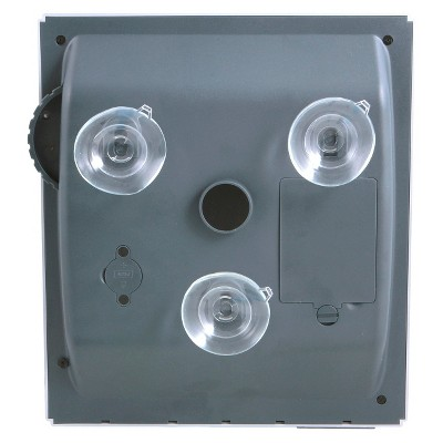 Zadro Fogless Lighted Shower Mirror   Silver