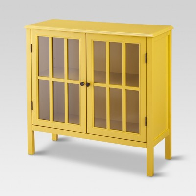 Windham Storage Cabinet - Yellow - Threshold™