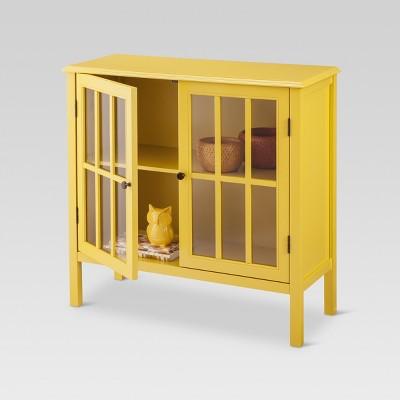 Windham Storage Cabinet   Yellow   Threshold™ : Target