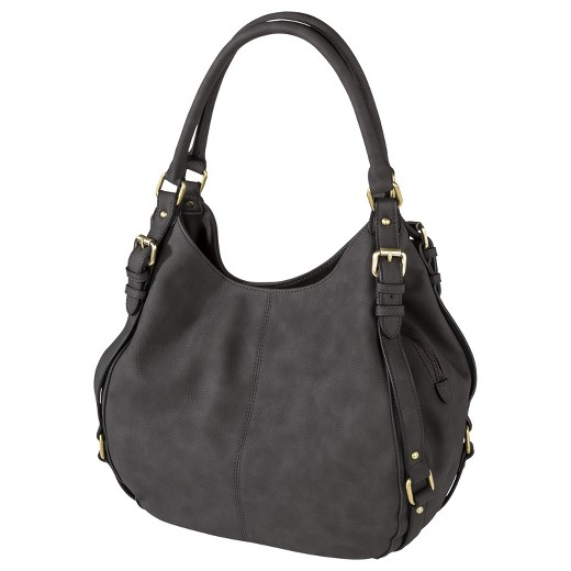 Women's Timeless Collection Large Hobo Faux Leather Handbag ...
