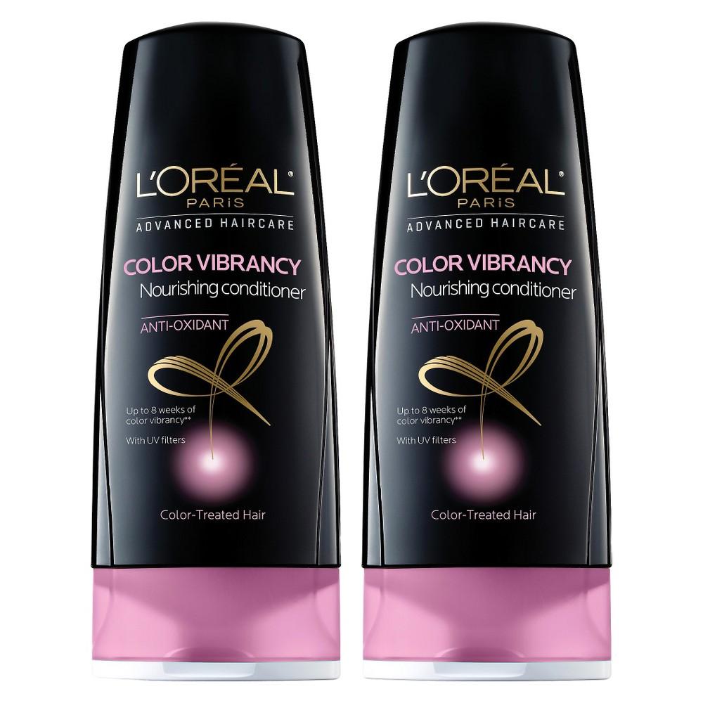 L'Oréal Paris Advanced Haircare Color Vibrancy Nourishing Conditioner - 2 pack bundle