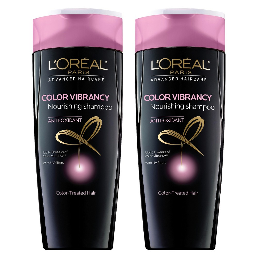 L'Oréal Paris Advanced Haircare Color Vibrancy Shampoo - 2 pack bundle