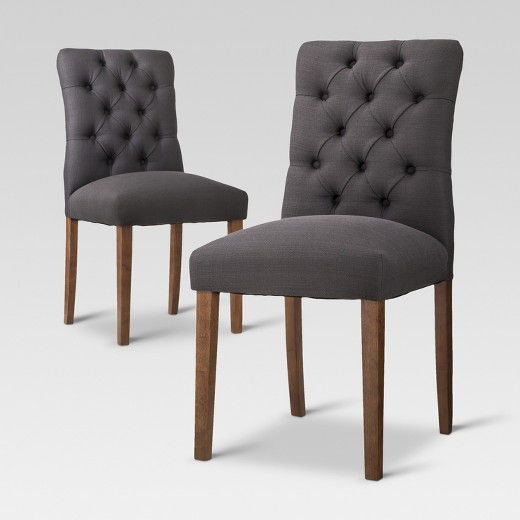 Target Kitchen Tables: Brookline Tufted Dining Chair