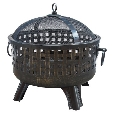 Landmann Savannah Fire Pit - Bronze