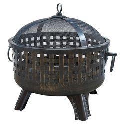 landmann ball of fire firepit target. Black Bedroom Furniture Sets. Home Design Ideas