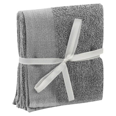 Hand Towel Set 2pk Flat Gray - Room Essentials™