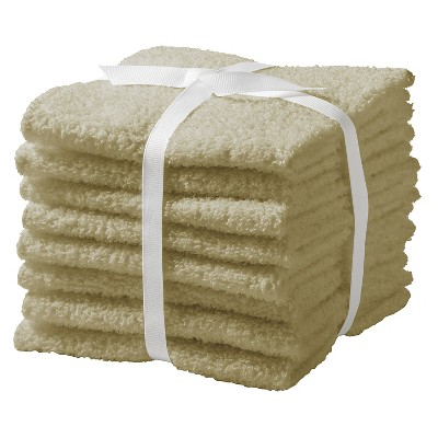 Washcloth Set Chatham 8pk Tan - Room Essentials™