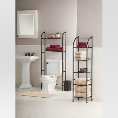 Superior Target Home Oil Rubbed Metal Over Toilet Space Saver Étagère Bronze    Threshold™