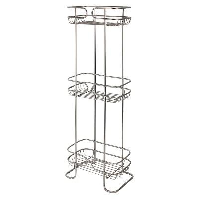 Bath Storage Rack Satin Interdesign