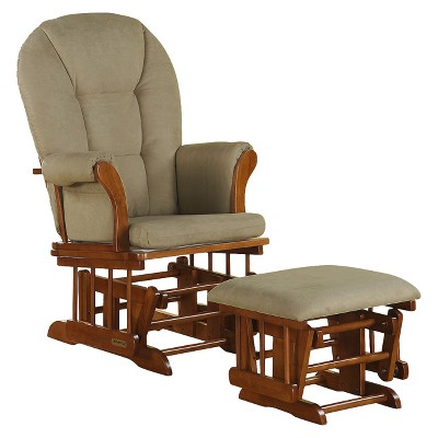 Wonderful Shermag Alexis Glider Rocker And Ottoman Combo