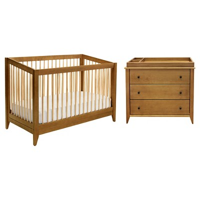 davinci highland 4in1 convertible crib with toddler rail