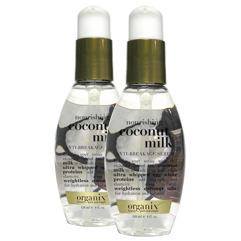 Ogx Coconut Milk Anti-Breakage Serum - 4 oz.