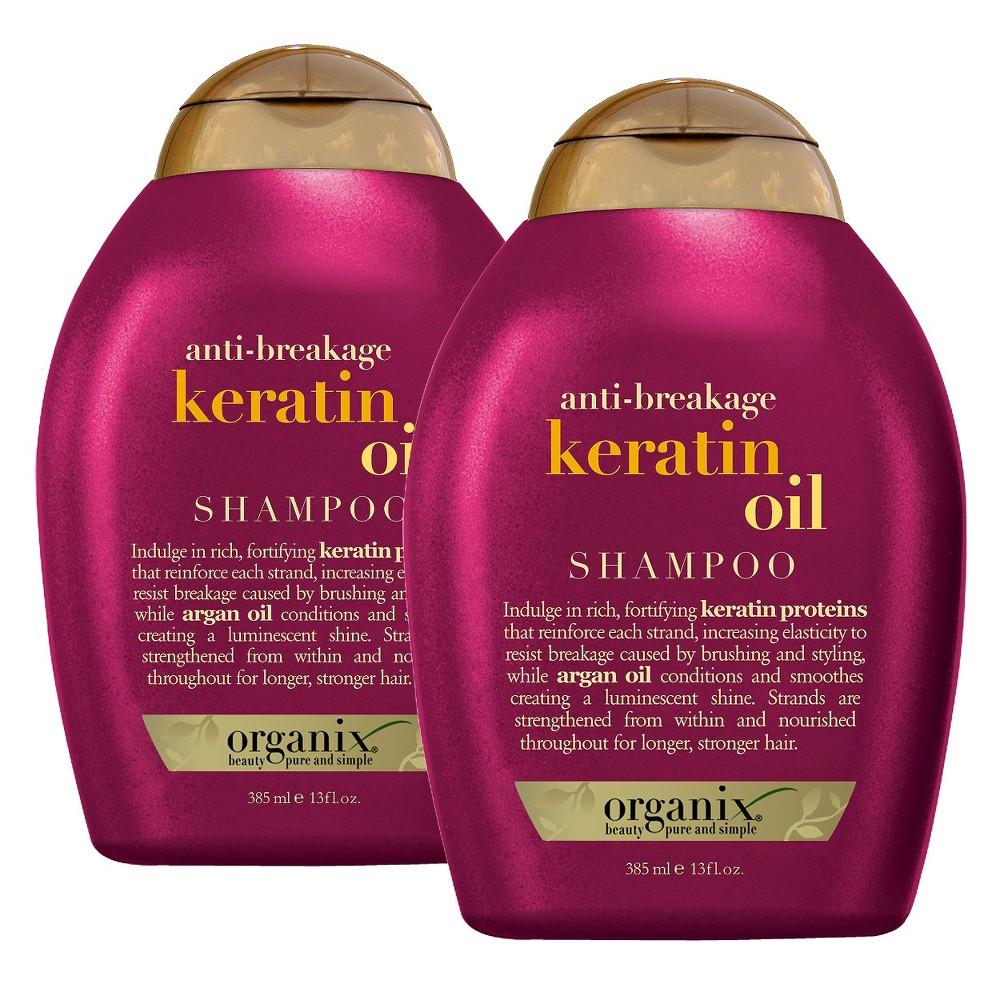 Ogx Anti-breakage Keratin Oil Shampoo - 13oz