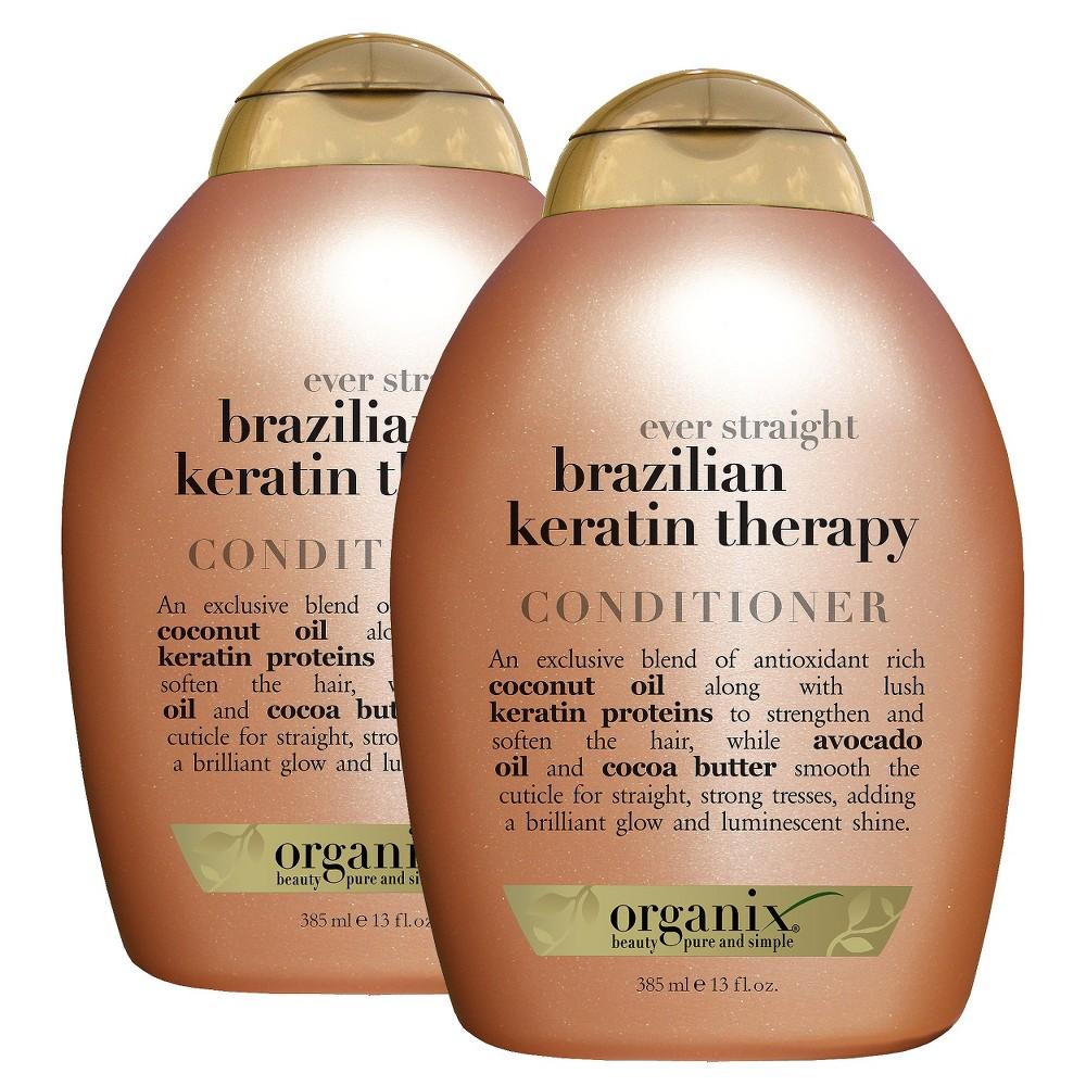 Ogx Ever-Straight Brazilian Keratin Therapy Conditioner 13 oz.