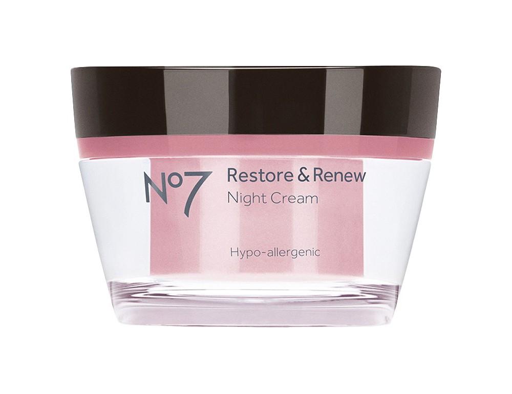 No7 Restore & Renew Night Cream - 1.6oz