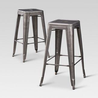 Carlisle 29 5  Backless Metal Barstool   Threshold. Kitchen   Dining Furniture   Target