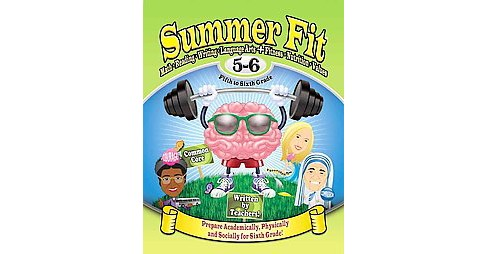 Summer Fit Fifth to Sixth Grade (Student) (Paperback) - image 1 of 1