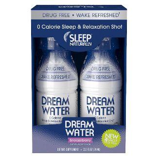 Dream Water Sleep & Relaxation Shot, Snoozeberry, 2.5 Fl Oz, 4 Ct