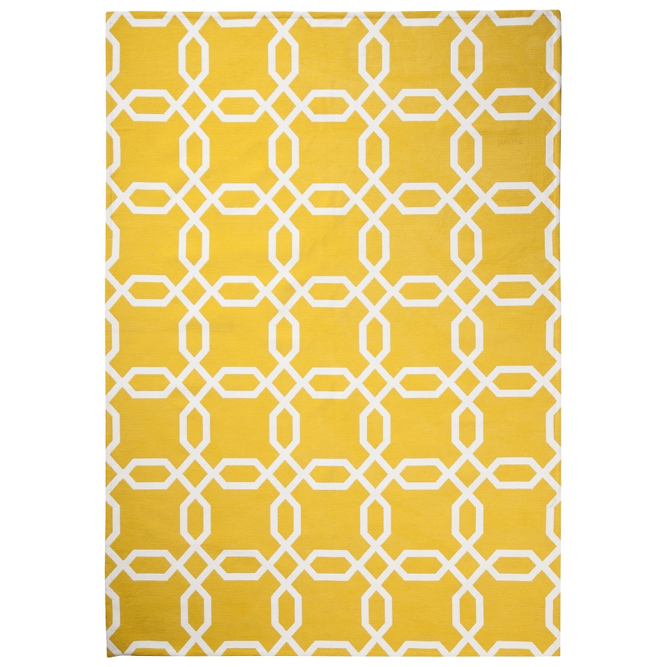 Room 365 Geometric Area Rug   Gully Gold (5x7)