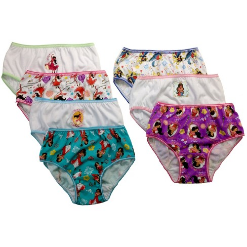 Disney® Toddler Girls' 7 Pack Ariel Briefs - image 1 of 1