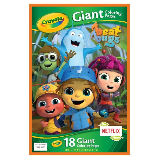 Crayola Giant Coloring Pages DC Superhero Girls Target