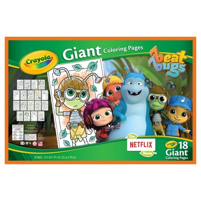 crayola giant coloring books : Target