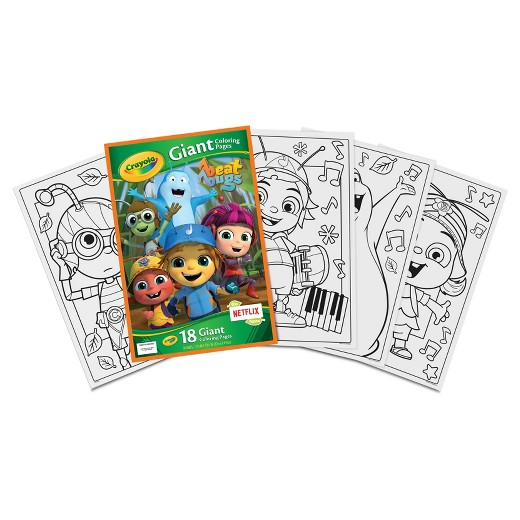 Crayola® Giant Coloring Pages - DC Superhero Girls : Target