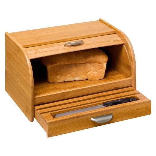 Honey-Can-Do Bamboo Bread Box - Bamboo : Target
