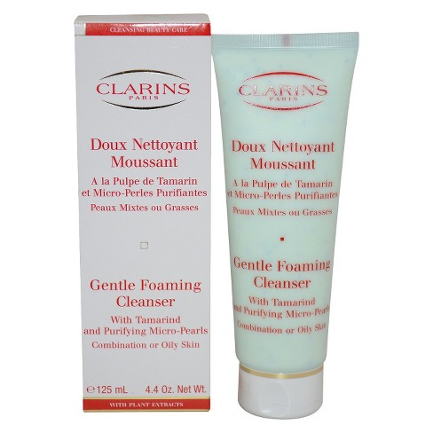 Clarins Gentle Foaming Cleanser With Tamarind & Purifying Micro Pearls  - 4.4 oz - image 1 of 1