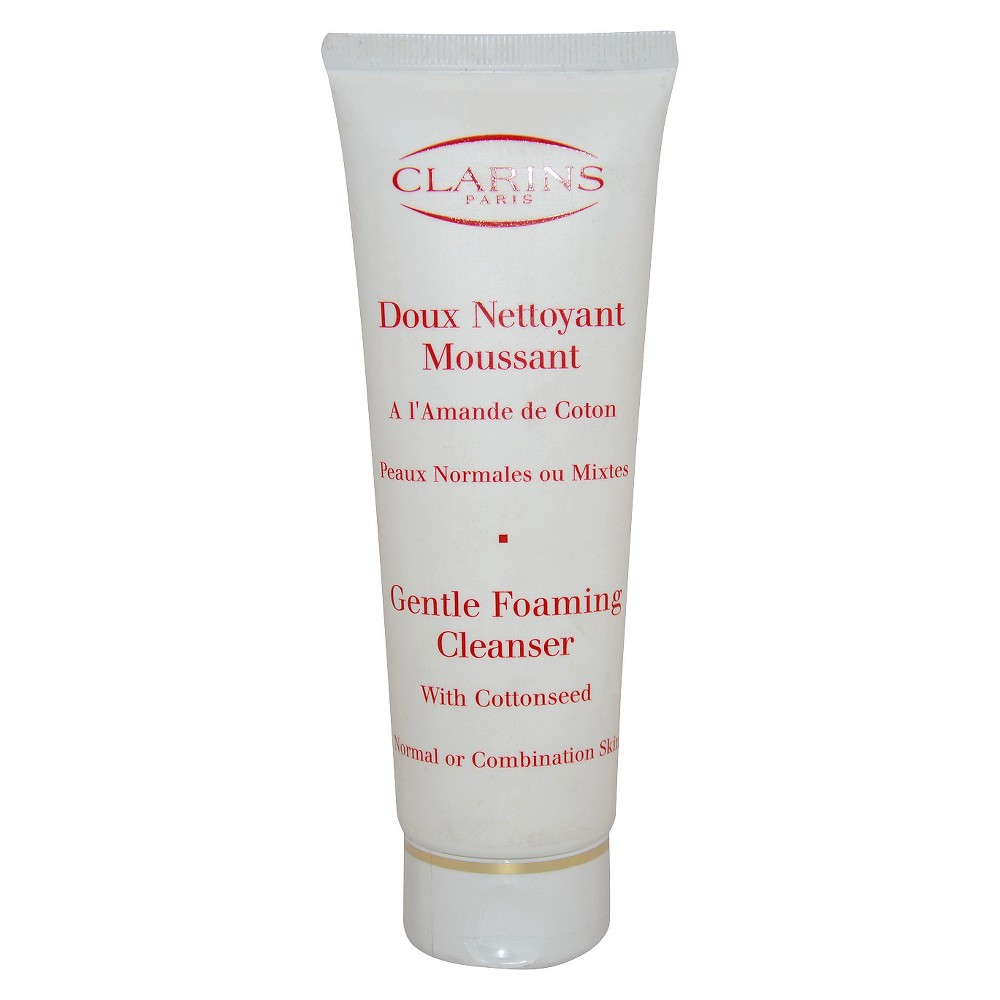 clarins gentle foaming cleanser how to use