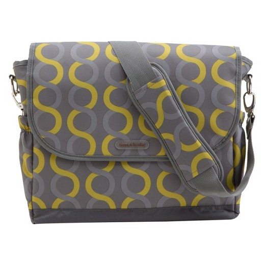 timi leslie sami messenger diaper bag with changing pad target. Black Bedroom Furniture Sets. Home Design Ideas