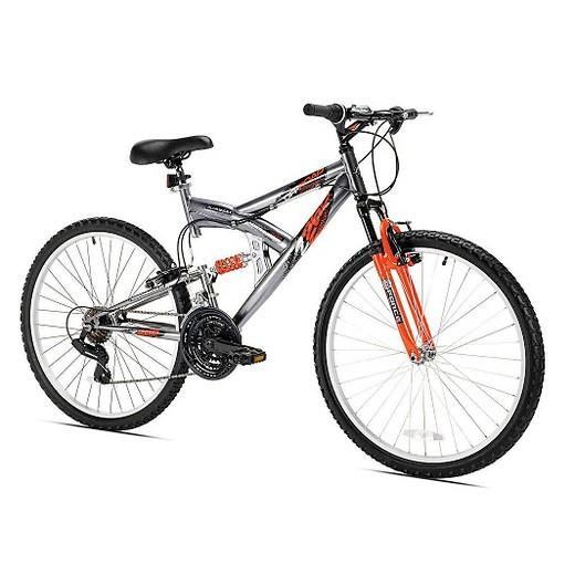 Northwoods Men S Z265 21 Speed 26 Mountain Bike Silver Target
