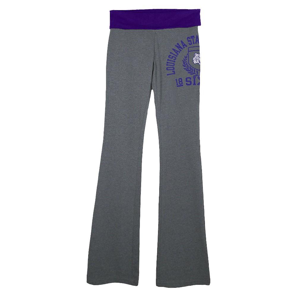 Lsu Tigers Juniors Yoga Gray XL, Women's