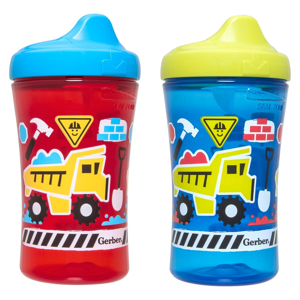 Gerber Graduates Advance 2pk 10oz Hard Spout Sippy Cup, Multi-Colored