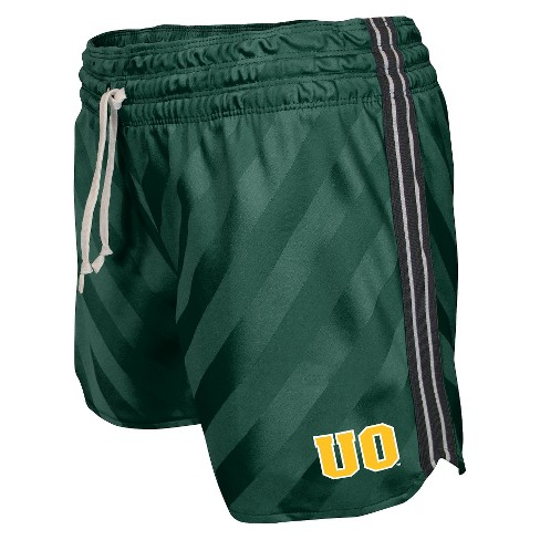 NCAA Oregon Ducks Juniors' Shorts - Green - image 1 of 1