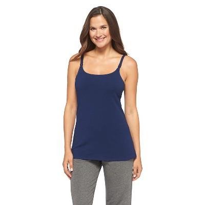 Women's Nursing Cotton Cami Nighttime Blue L - Gilligan & O'Malley™