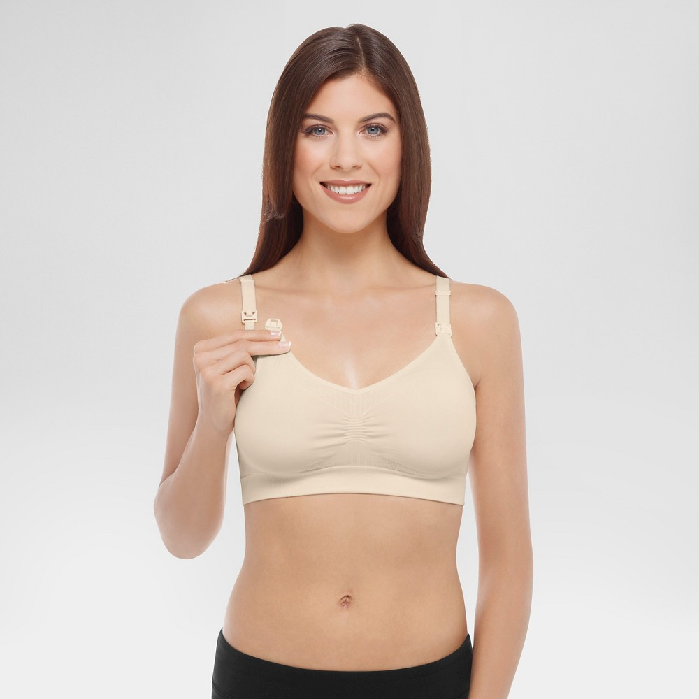 Medela Womens Nursing Seamless Bra - Ivory XL
