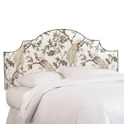 Roberta Nail Button Notched Headboard Collection - Skyline Furniture®